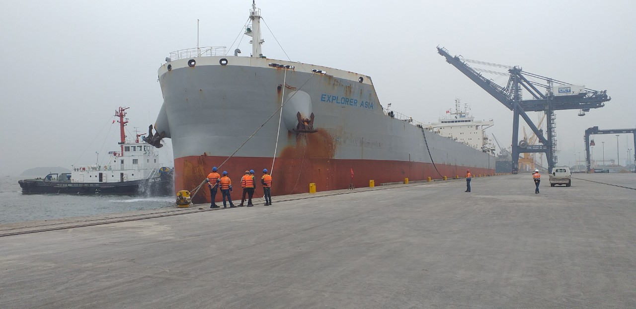 Tàu EXPLORER ASIA Ngô cảng CICT