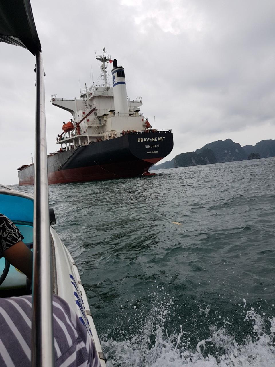 Tàu BRAVEHEART khô đậu  cảng CICT