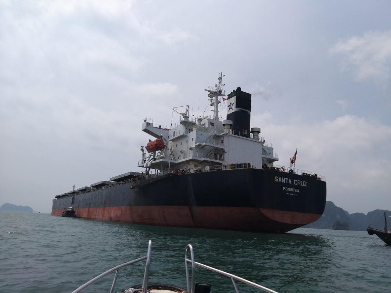 Tầu Santa cruz ngô cảng CICT