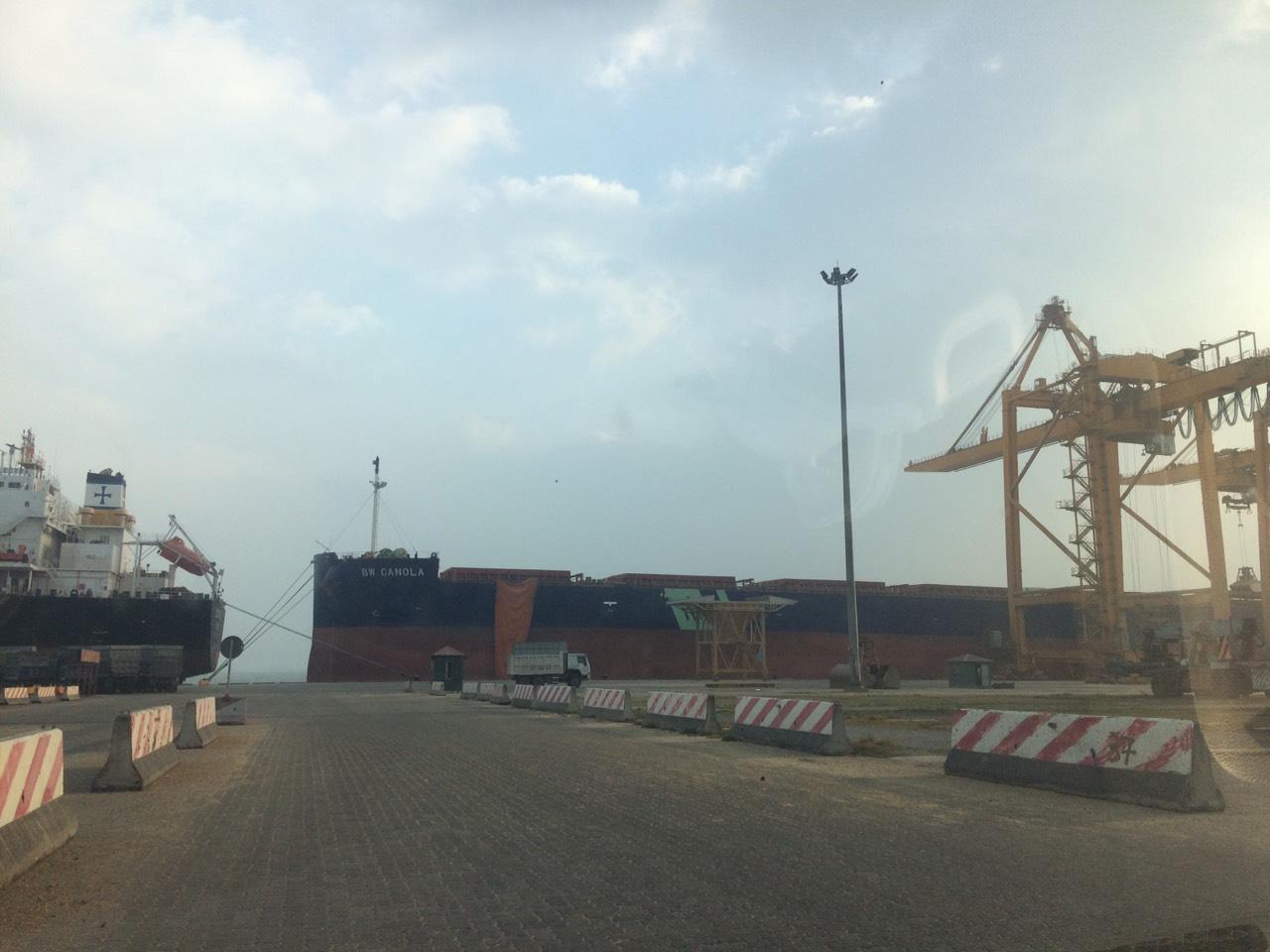 Hai Tầu Nông Sản CANOLA và AVALON Cảng Cái Lân
