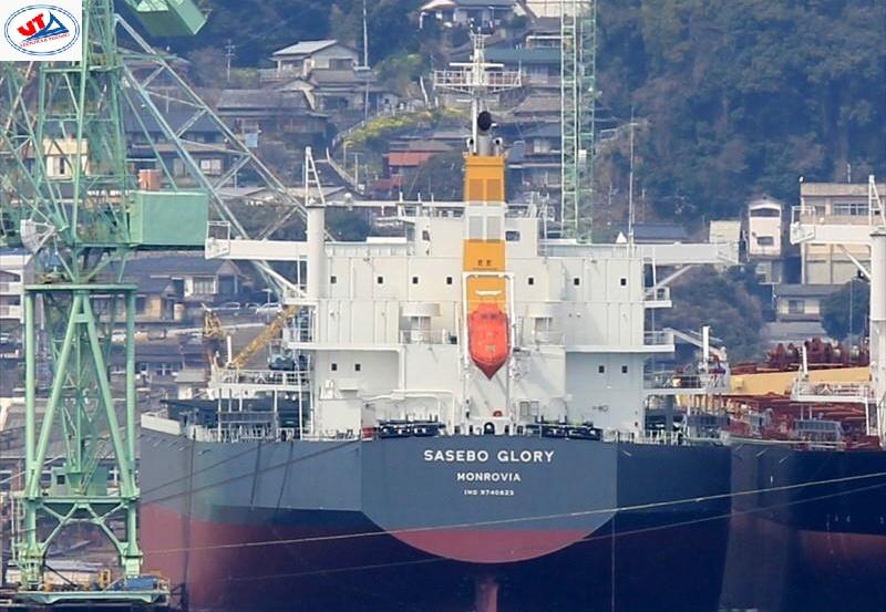 Tầu Sasebo Glory mang theo 50.299 tấn Khô đậu Argentine