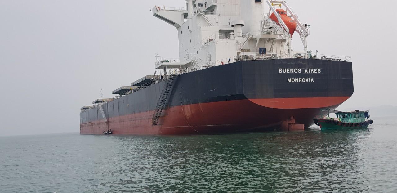 Tầu Buenos Aires Khô Đậu cảng Cái Lân