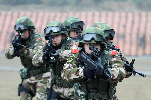 Cảnh sát vũ trang Trung Quốc từng tuân thủ chế độ lãnh đạo kép