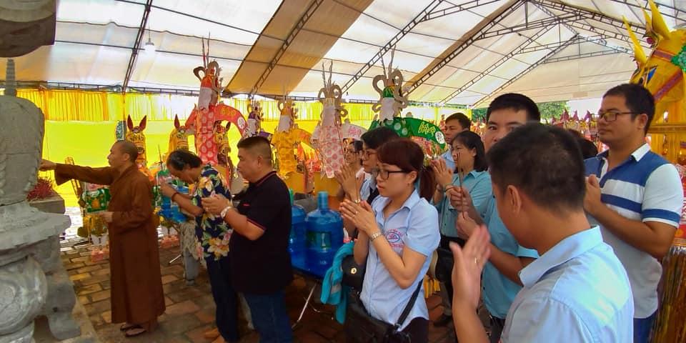 Ngày Đại Lễ 12/09/2018 tại Miếu Vua Bà - Quảng Yên - QN