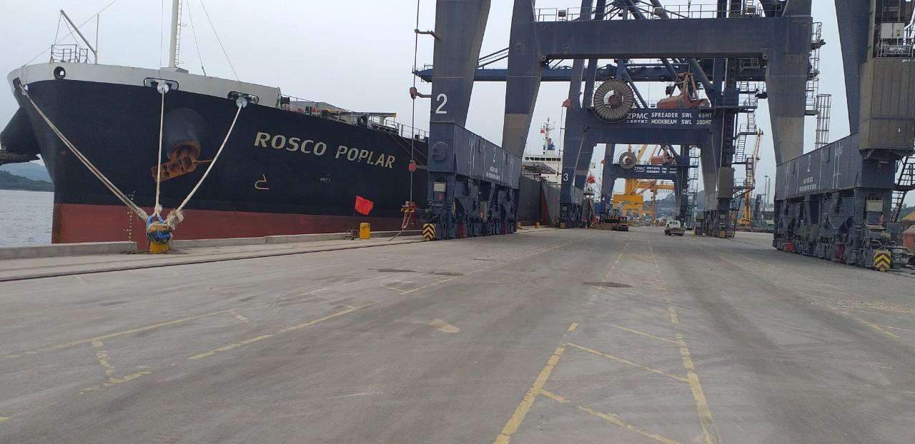 Hai tầu ROSCO POPLAR + CAP FERRAT Ngô và Khô Đậu Cảng CICT