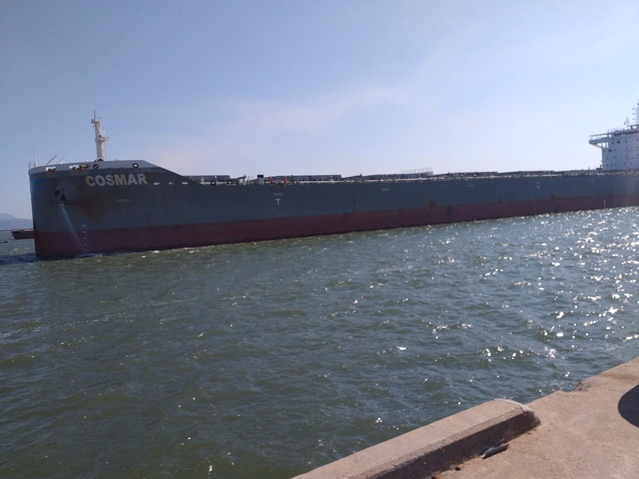 TầuCosmar Ngô cảng Cái Lân