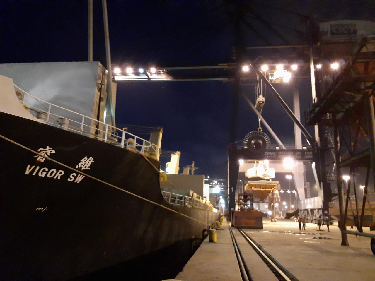 Tổng Hợp Tầu Nông Sản cảng Cái Lân Tháng 06.2020