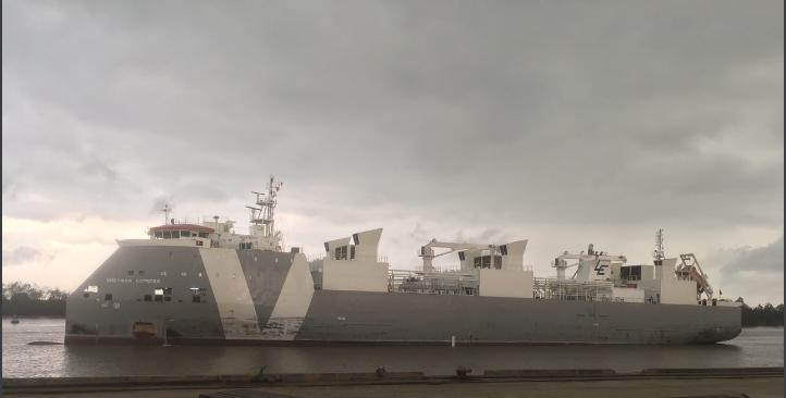 TầuBò ÚcGREYMAN EXPRESS cảng Cá HP