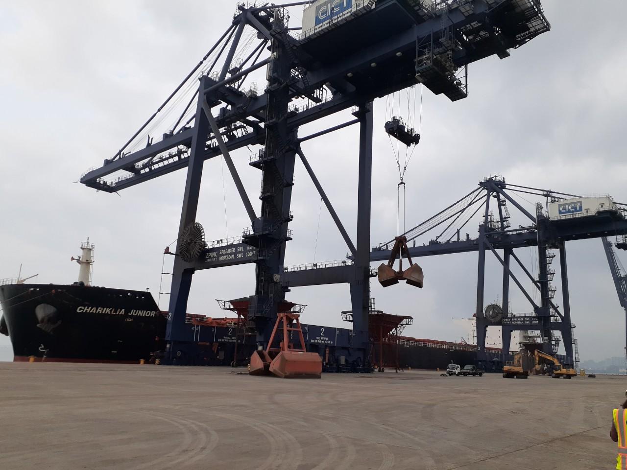 Tổng Hợp Tầu Nông Sản cảng Cái Lân Tháng 04.2020