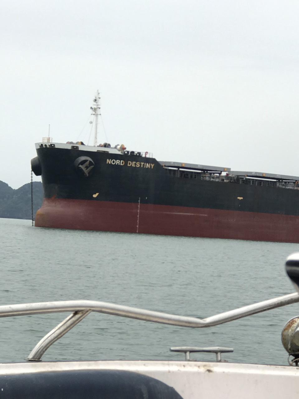 Tầu Nord Destiny Ngô cảng Cái Lân